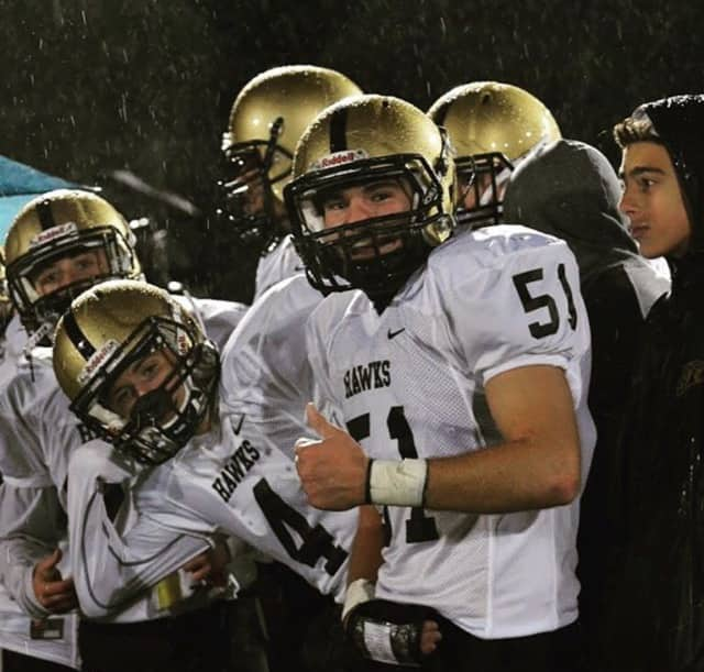 Coach D.J. Nimphius's River Dell Golden Hawks play Ramapo in the sectional finals at MetLife Stadium on Dec. 5.