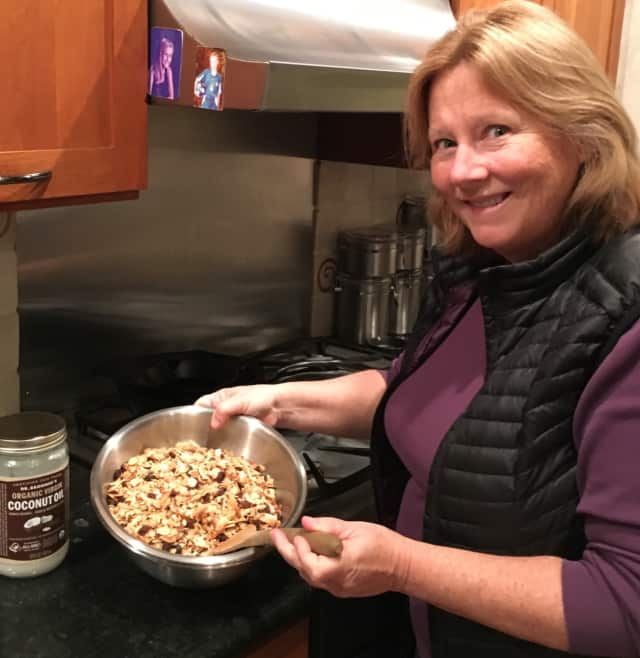 Susan Rubin of Chappaqua, N.Y. blogs at drsusanrubin.com and shared her granola recipe.
