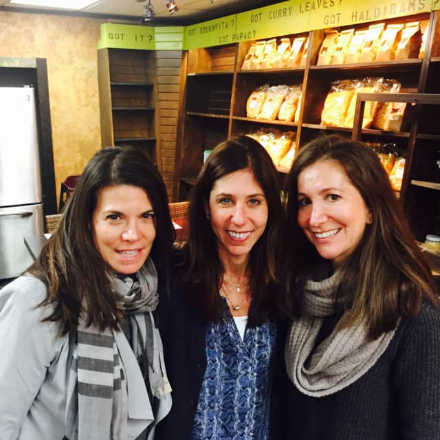 Left to right: Karen Gordon, Gabrielle Zilkha, and Heidi Israel of the newly formed Stylecerfer.