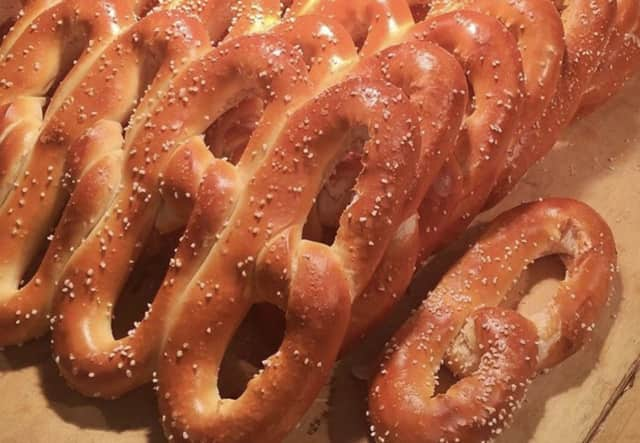 The Philly Pretzel Factory in Clifton is giving away free pretzels through Sunday.