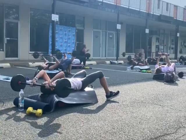 Crunch in Midland Park is offering a variety of outdoor classes.