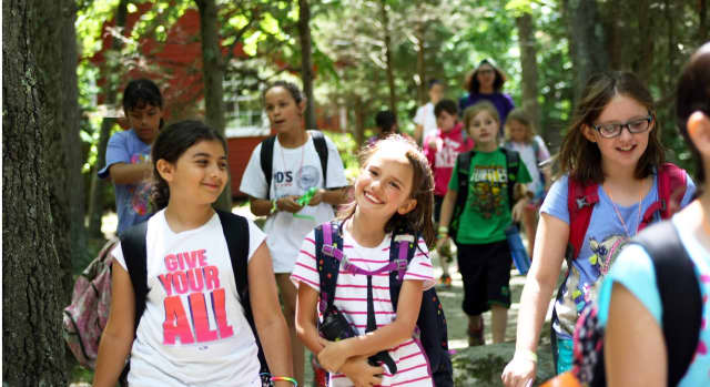 Camp Aspetuck in Weston is one option for Girl Scout camp this summer.