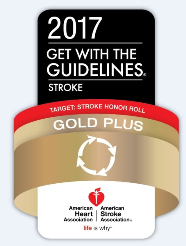 Nyack Hospital has been recognized as one of the top hospitals in the nation for stroke care.