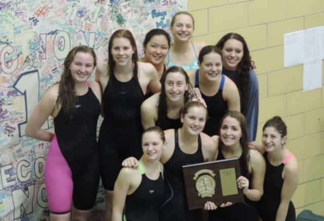 The Greeley Girls won the Section 1 Swimming Championship for the fourth year in a row.