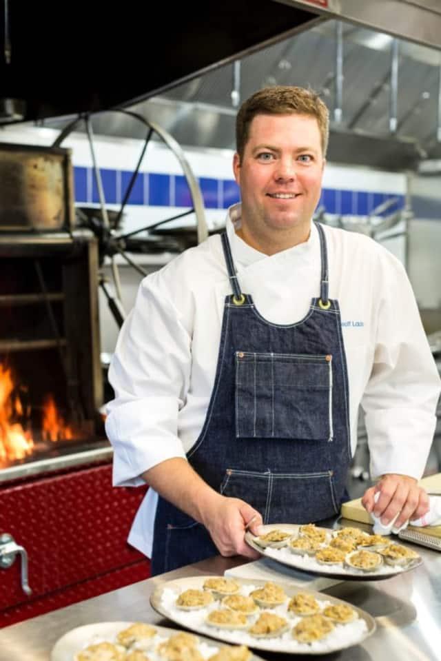Chef Geoff Lazlo of Mill Street Bar & Table in Greenwich.