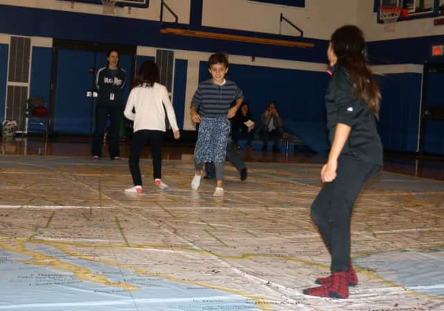 Students at Pocantico Hills got to travel the globe.