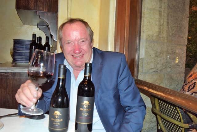 George Bursick, executive winemaker of Maxville Winery.