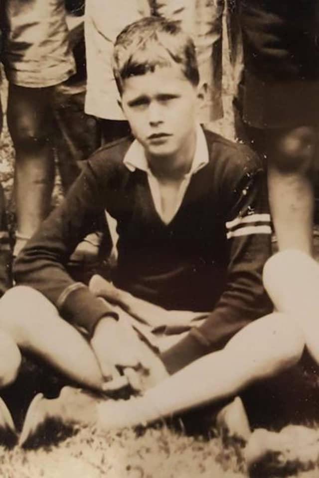 George H.W. Bush, Greenwich Country Day School class photograph, circa 1933/34.