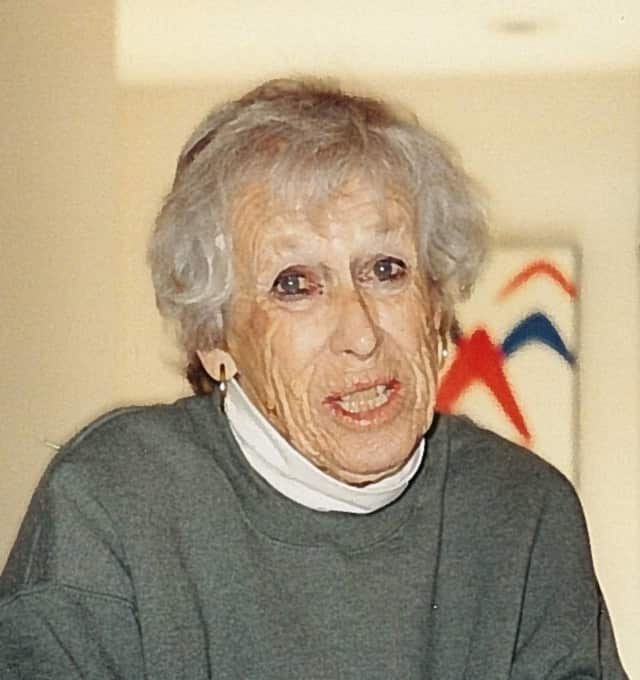 Gertrude Kahn, 98, a former longtime resident of Hartsdale, fled Germany during the Nazi regime.