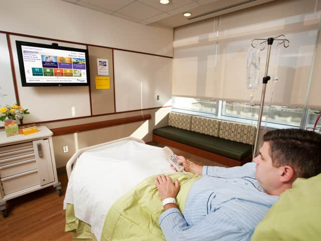 Valley Hospital's new 'GetWellNetwork' aims to help patients feel at home during their recovery process.