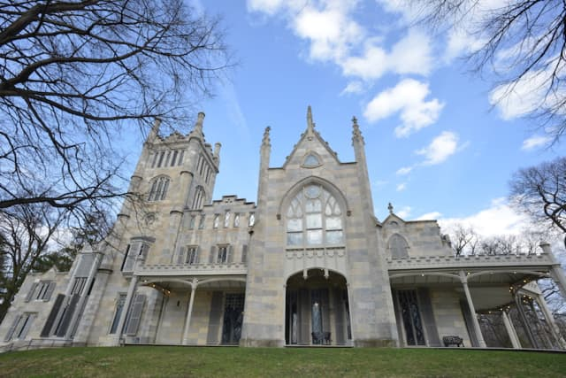 """The third annual """"Mansions of the Gilded Age"""" symposium will be held April 29 at Lyndhurst in Tarrytown. Photograph by Bob Rozycki."""