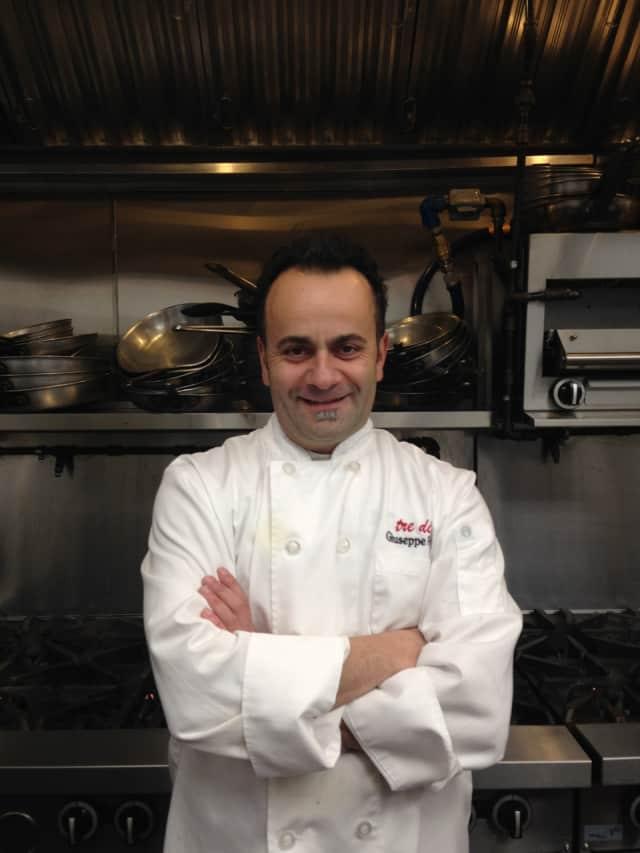 Executive Chef Giuseppe Fanelli of tredici NORTH.