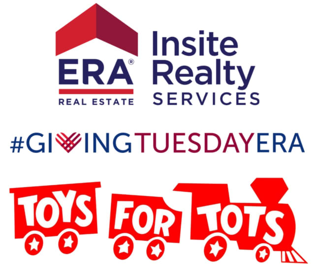 This holiday season, ERA Insite Realty will be participating in the Toys for Tots toy drive, and all toys will be distributed to local children.