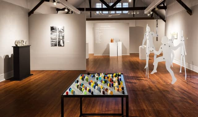 """""""Space, Structure and Light,"""" a contemporary glass exhibition, will be shown at the Silvermine Galleries in New Canaan."""