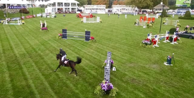 The field for the $70,000 Fidelity Investments Classic. Photograph by Robin Costello.
