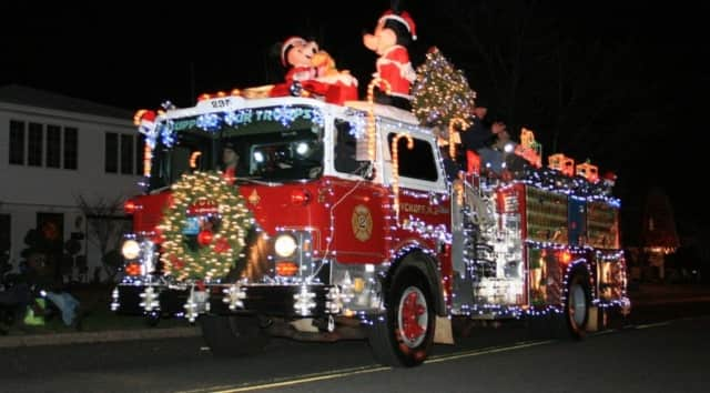 Fire trucks decked out for the holidays will parade through Wallington Nov. 28 in the 14th Annual Fire Department Holiday Parade.