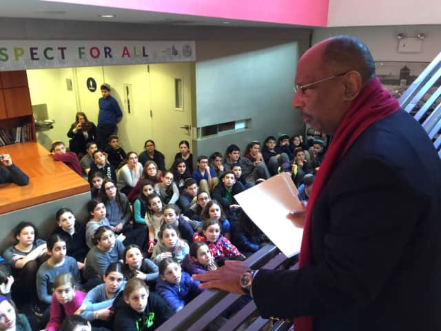 Assemblyman Gordon M. Johnson Joins Englewood's Moriah School at the Simon Wiesenthal Center to Share in the Legacy of Dr. Martin Luther King Jr.