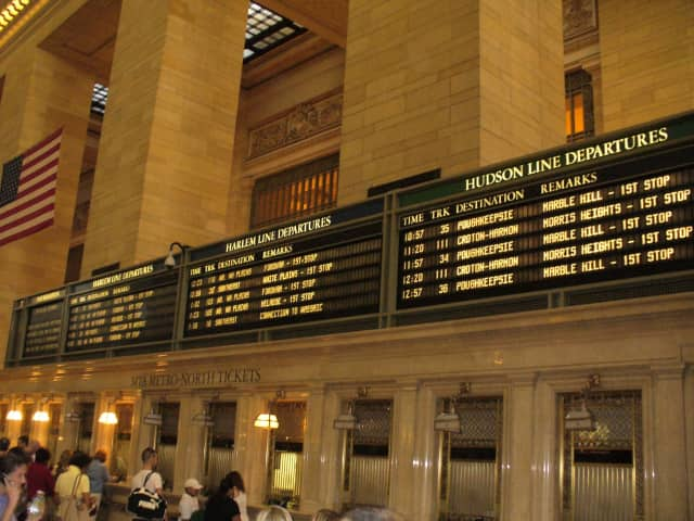 The Grand Central Terminal Big Board.