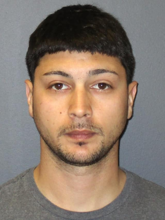 Michael Grieco was being held on $10,000 bail in the Bergen County Jail, charged with burglary and attempted theft.