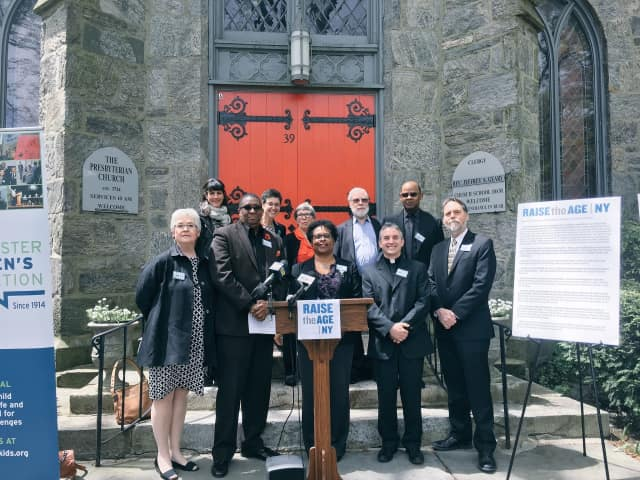 Clergy meeting to support Raise The Age New York.