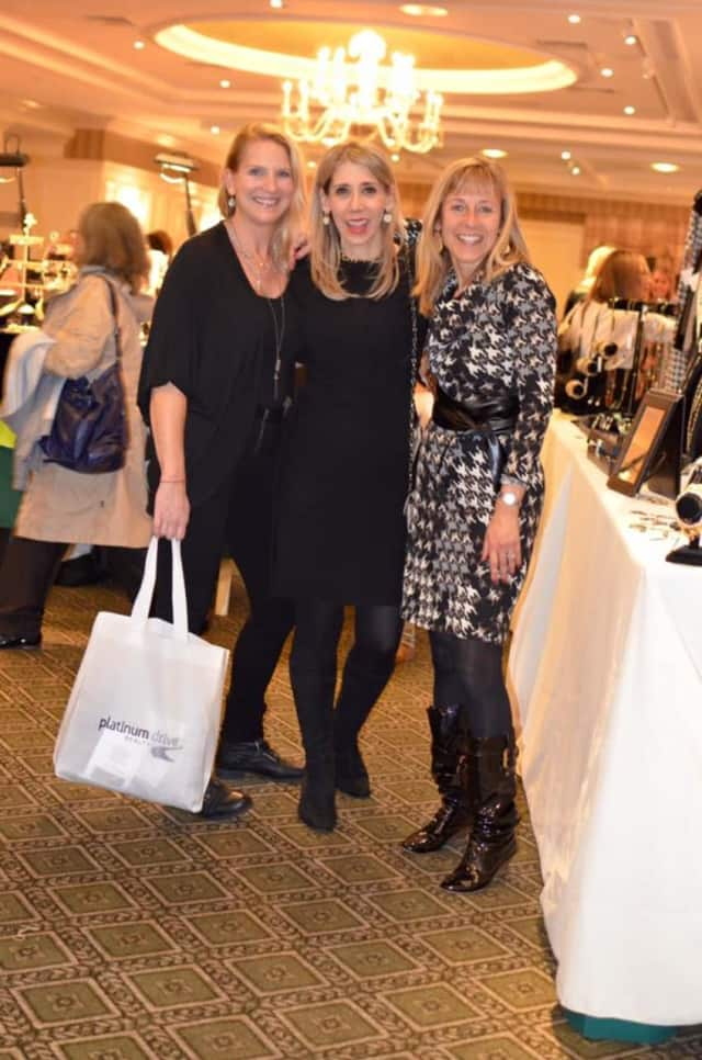 Shoppers at last year's Junior League of Central Westchester Holiday Boutique.