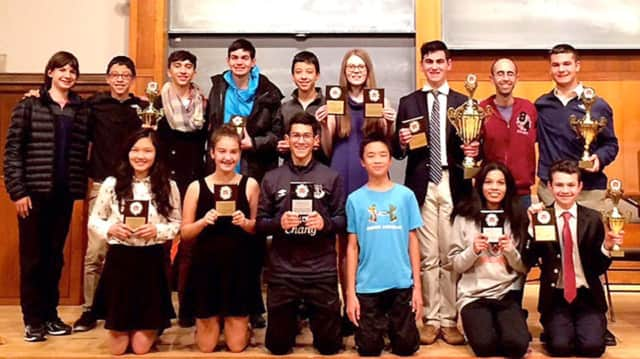 Harrison High School debate team recently won a national competition at Princeton University.