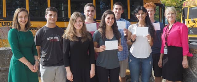 Harrison High School is celebrating the seniors who earned recognition by the National Merit Scholarship Program.