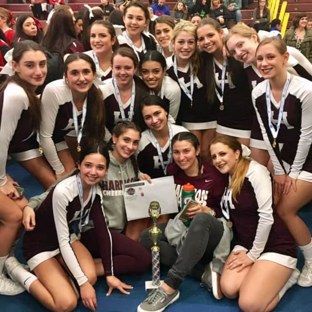 Harrison High School's varsity cheerleading team has qualified to compete at Nationals in Florida in February.