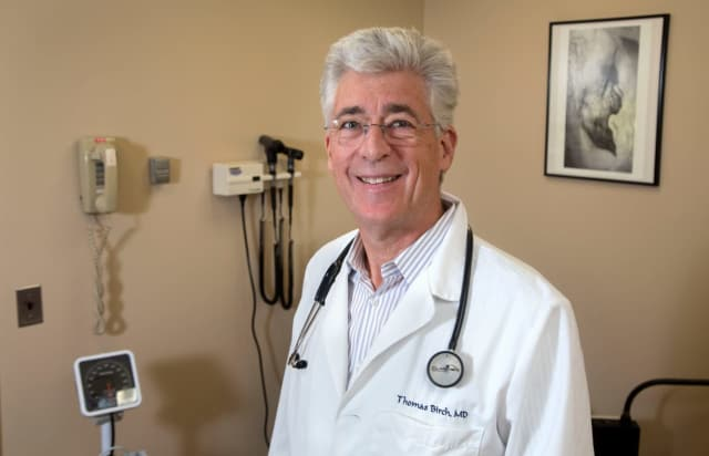 Dr. Thomas Birch, an Infectious Disease Specialist at Holy Name Medical Center in Teaneck.