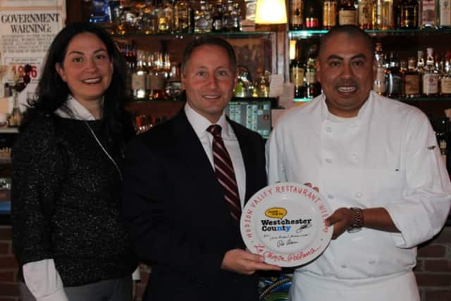 Westchester County Executive Rob Astorino recently visited La Chinita Poblana to highlight the diversity of Hudson Valley Restaurant Week.