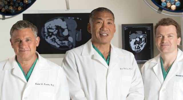 Hudson Valley Surgical Group's team of doctors include Drs. Robert J. Raniolo, Har Chi Lau and Michael Weitzen.