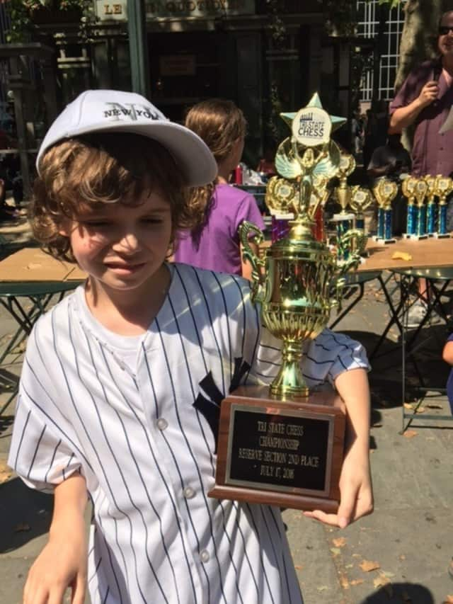 Daniel Hagen, 11, of White Plains, came in second in the reserve section in the recent Tri-State Chess Championship in New York City.