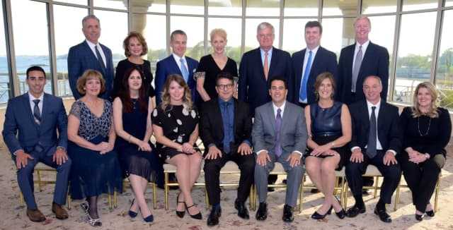 Business leaders and honorees at the Business Council of Westchester's 17th annual Business Hall of Fame Awards