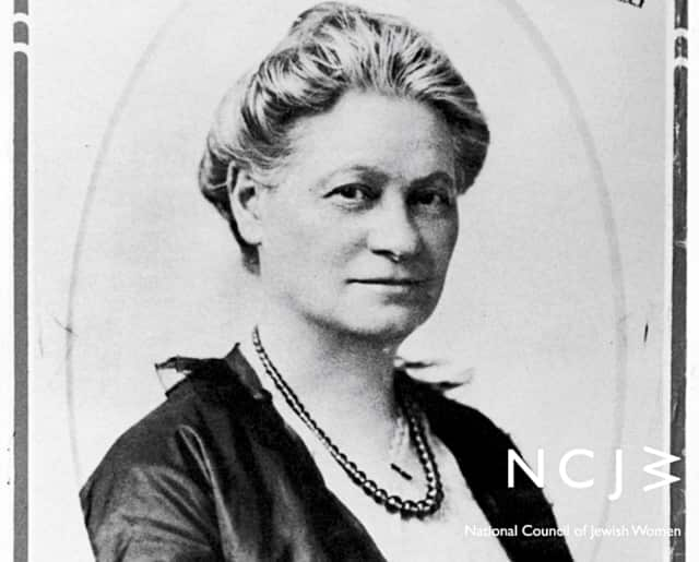 New Jersey will now commemorate the birthday of Hannah Solomon, founder of the NCJW.