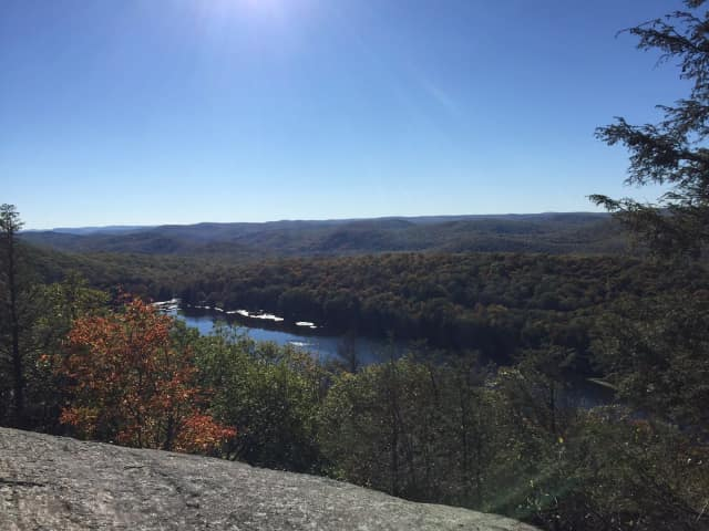 Harriman State Park is a good place to check out the fall colors.
