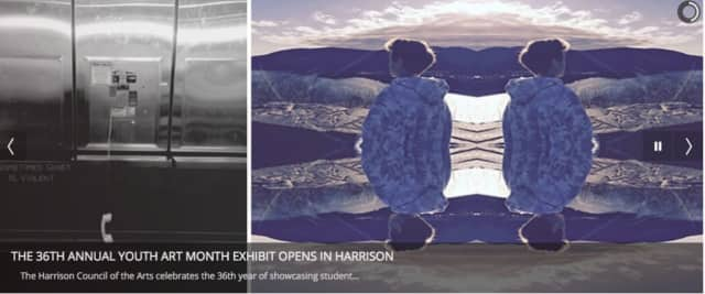 The opening ceremony for the Harrison Council Art's celebration of 36 years of showcasing student art was held on Sunday, March 6.
