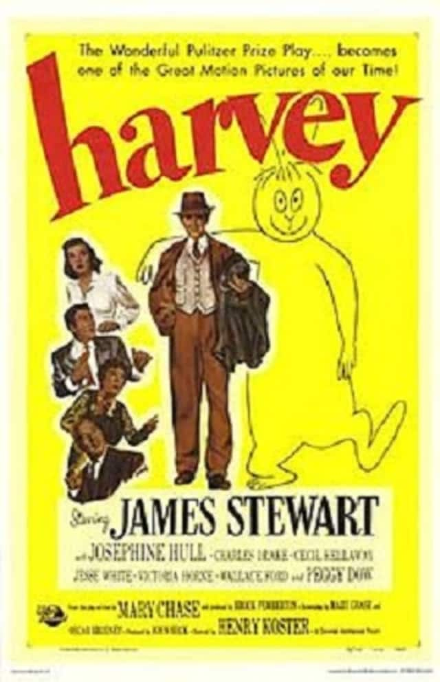 "The play ""Harvey,"" a classic comedy about a man whose best friend is an invisible 6-foor-tall rabbit, will be presented this weekend at the Elmwood Playhouse. The film version starred James Stewart (pictured)."