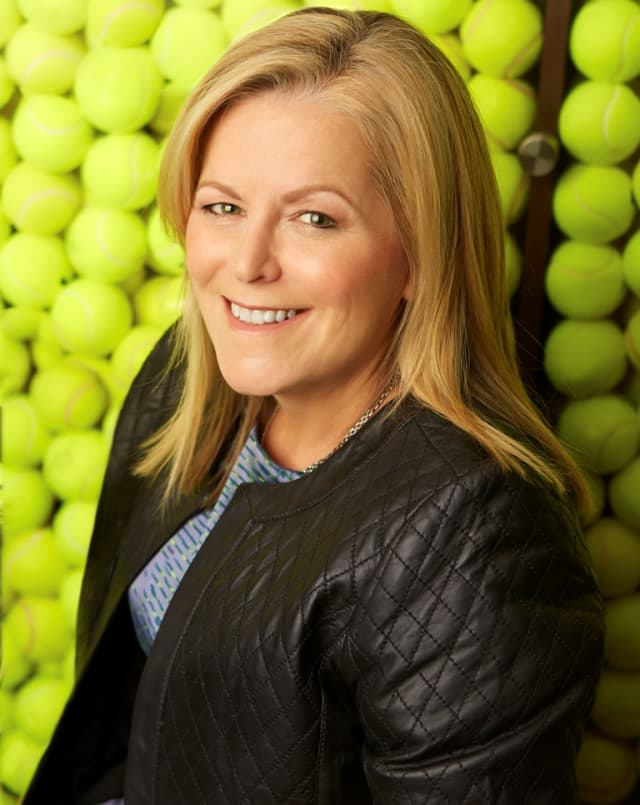 Stacey Allaster, chief executive, professional tennis.  Photograph by Jorge Alvarez.