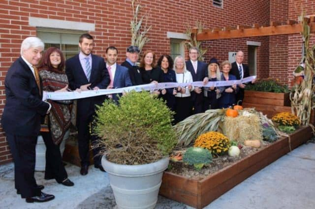 The Joseph M. Sanzari Children's Hospital at HackensackUMC recently unveiled a rooftop healing garden to benefit patients at the Audrey Hepburn Children's House, a state-designated Regional Diagnostic Center for Child Abuse and Neglect.