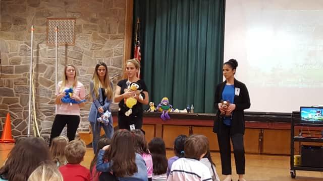 Paramus Parkway Elementary organizes dental hygiene program.