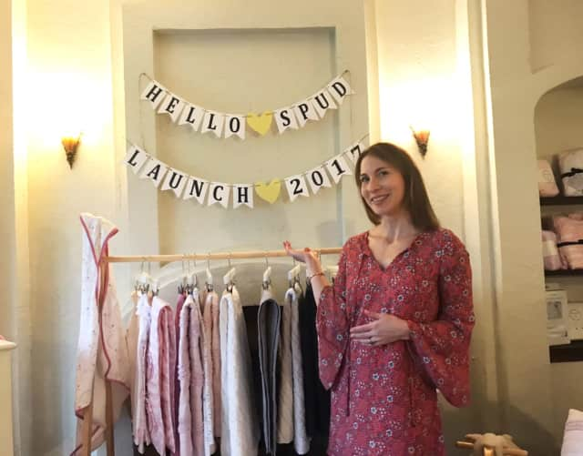 Melanie Kayam, founder of Scarsdale-based Hello Spud.