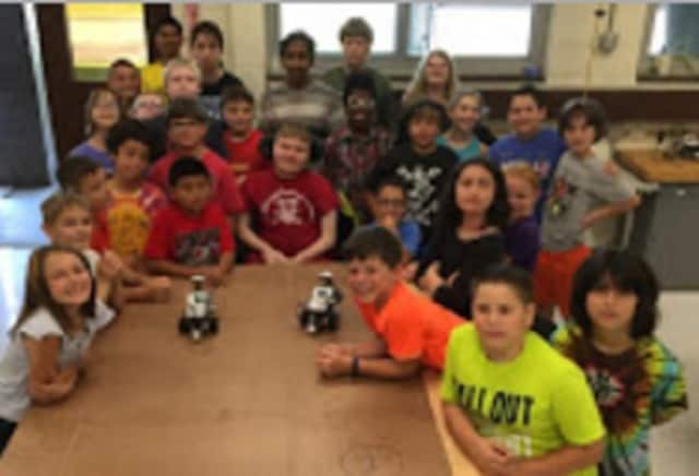 The Hendrick Hudson School District ran their first ever four-day robotics camp in June.