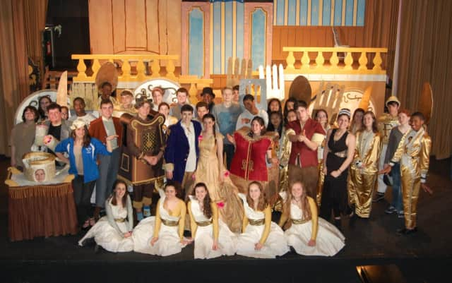 """The Hendrick Hudson High School Theatre will present a live production of """"Beauty and The Beast"""" in the school's auditorium in Montrose, during the weekend of April 8- 10."""