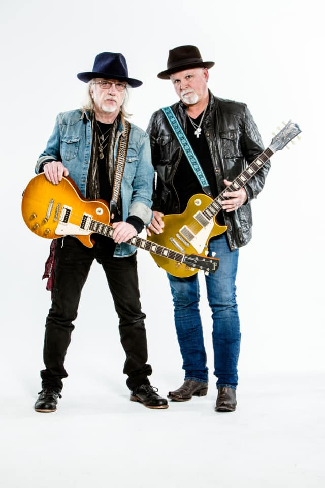 Brad Whitford and Derek St. Holmes will play Nov. 19 at the Ridgefield Playhouse.