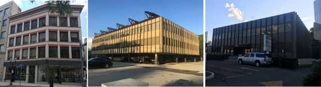 The three Stamford buildings are at: 1 Bank St., 1011 High Ridge Road and 992 High Ridge Road. The first one is downtown, the other two are almost across the street from each other.