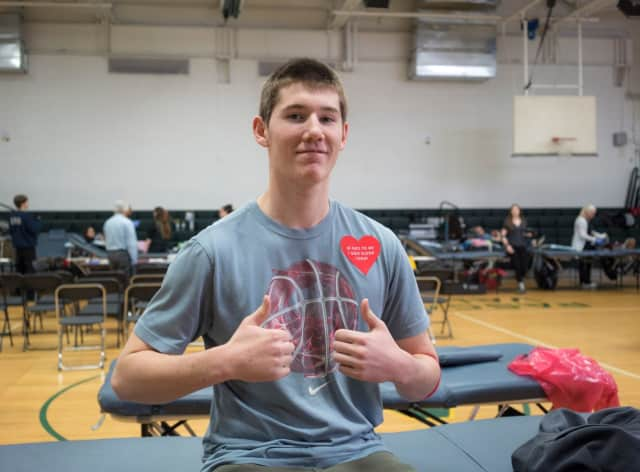 High school students will donate blood in Paramus.