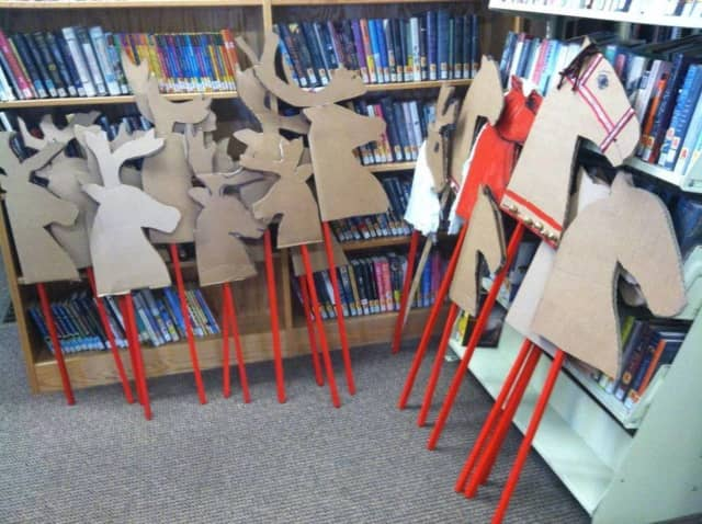 Help Tom Hanford make hobby horses on Saturday, Dec. 12. at the NorthEast-Millerton Library.