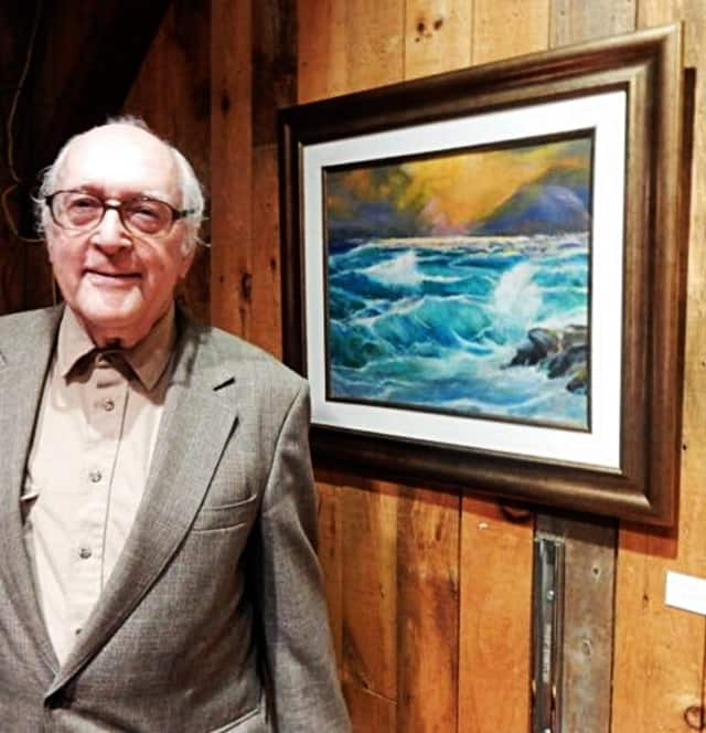 Hobbyists Unlimited has helped keep Ridgewood's retirees active for half a century. Hobbyist John Butler had an art exhibit this March.