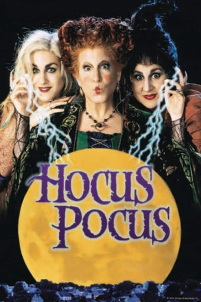 The comedy/fantasy 'Hocus Pocus' will be screened Oct. 31 at the Schoolhouse Theater.
