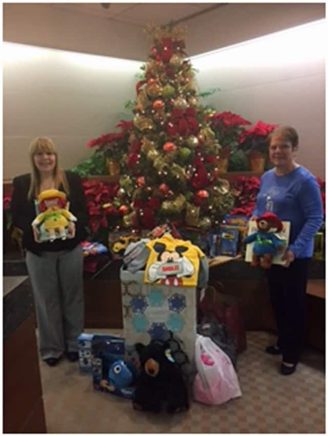 Alfred Sanzari Enterprises recently donated nearly 500 toys and gifts to Eva's Village, a nonprofit in Paterson.